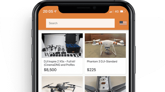 DroneTrader iOS App
